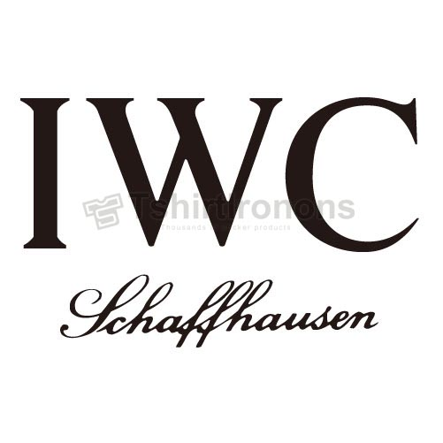 IWC T-shirts Iron On Transfers N2858