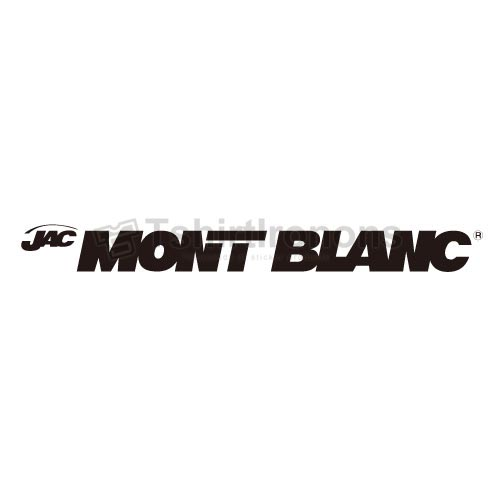 Mont Blanc T-shirts Iron On Transfers N2864