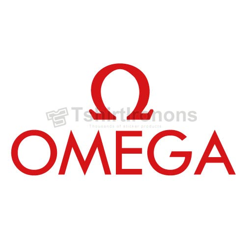 OMEGA T-shirts Iron On Transfers N2865