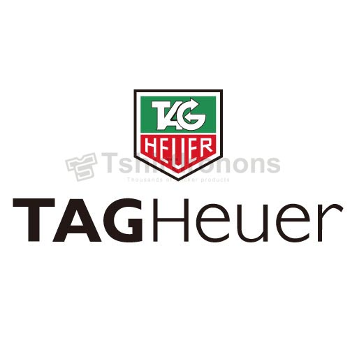 Tagheuer T-shirts Iron On Transfers N2876