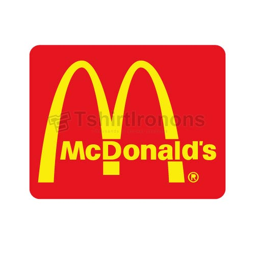 Mcdonalds T-shirts Iron On Transfers N7333