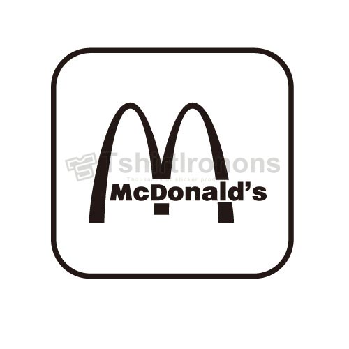 Mcdonalds T-shirts Iron On Transfers N7338