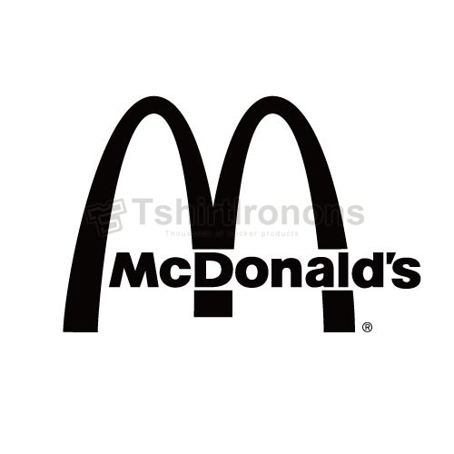 Mcdonalds T-shirts Iron On Transfers N7340