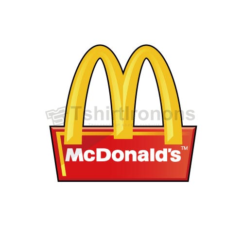 Mcdonalds T-shirts Iron On Transfers N7341
