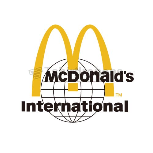 Mcdonalds T-shirts Iron On Transfers N7342
