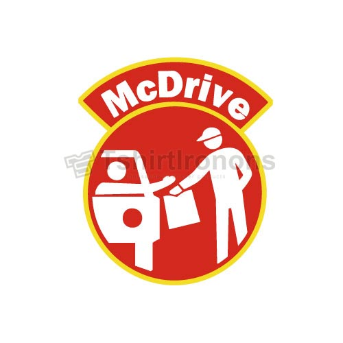 Mcdonalds T-shirts Iron On Transfers N7343