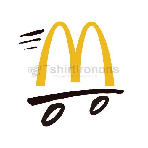 Mcdonalds T-shirts Iron On Transfers N7350