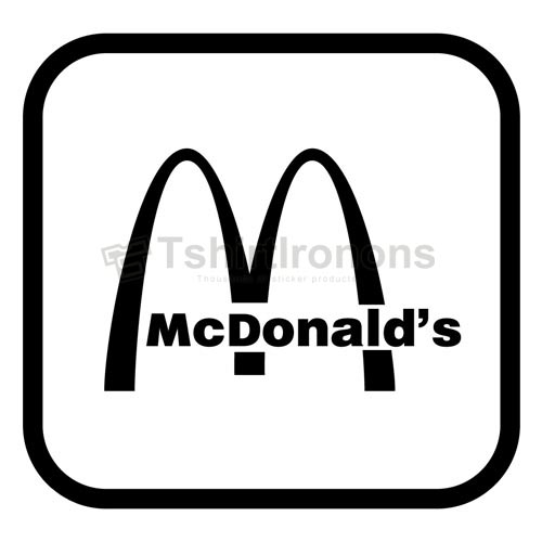 Mcdonalds T-shirts Iron On Transfers N7353
