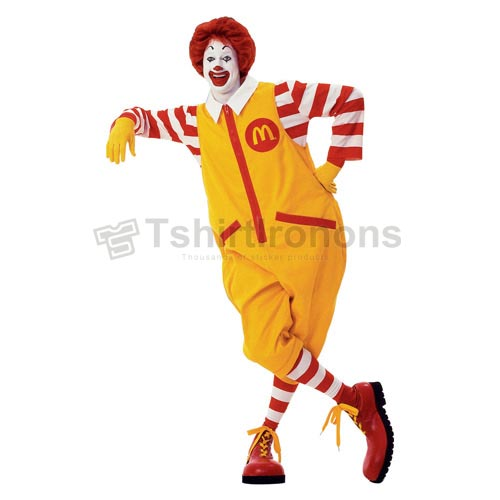 Mcdonalds T-shirts Iron On Transfers N7356