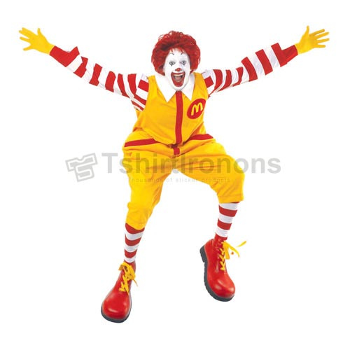 Mcdonalds T-shirts Iron On Transfers N7358