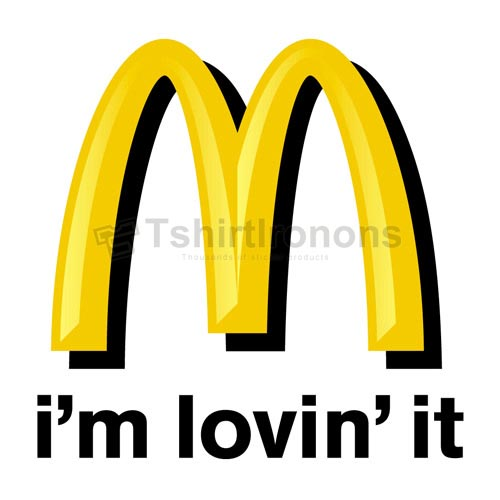 Mcdonalds T-shirts Iron On Transfers N7364