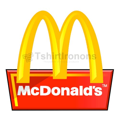 Mcdonalds T-shirts Iron On Transfers N7366