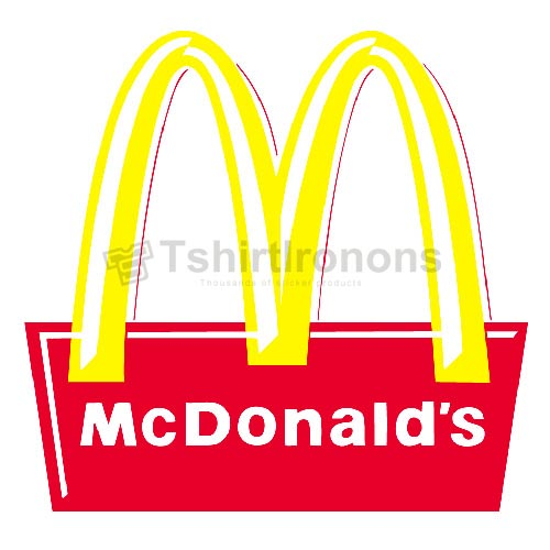 Mcdonalds T-shirts Iron On Transfers N7370