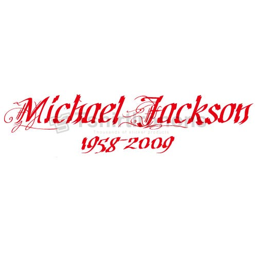 Michael Jackson T-shirts Iron On Transfers N7128