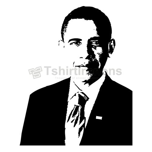 Obama T-shirts Iron On Transfers N6238