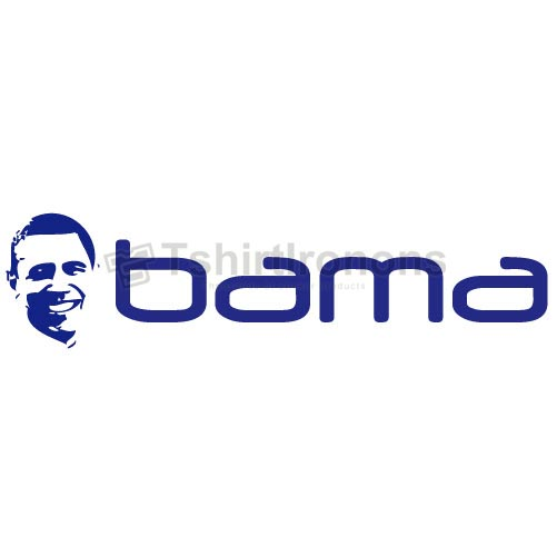 Obama T-shirts Iron On Transfers N6239