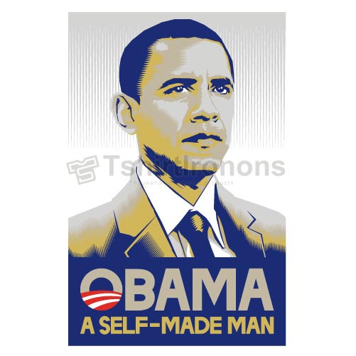 Obama T-shirts Iron On Transfers N6241