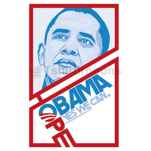 Obama T-shirts Iron On Transfers N6242