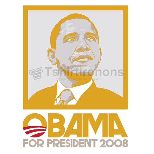 Obama T-shirts Iron On Transfers N6244