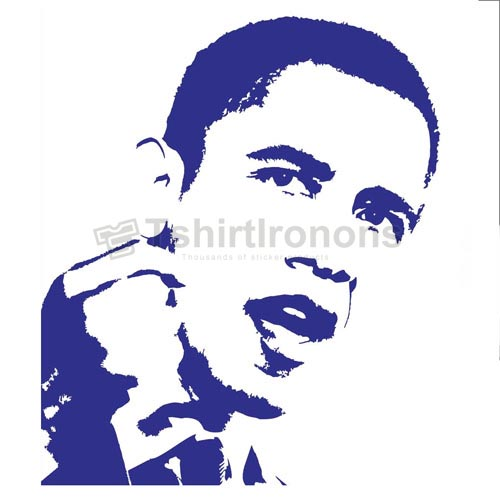 Obama T-shirts Iron On Transfers N6250