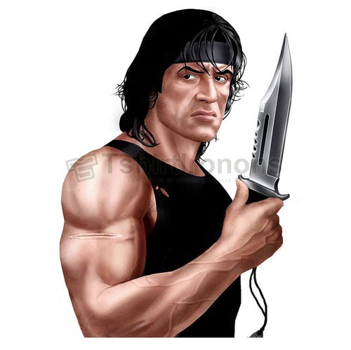 Rambo T-shirts Iron On Transfers N7188