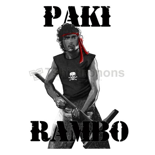 Rambo T-shirts Iron On Transfers N7190