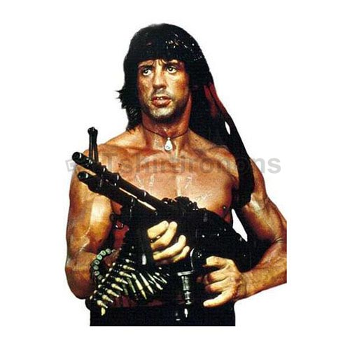 Rambo T-shirts Iron On Transfers N7191