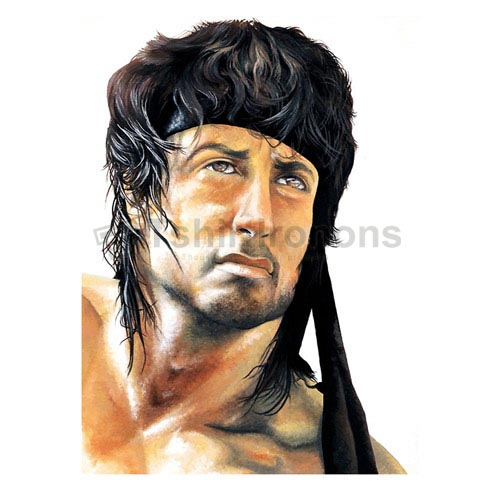Rambo T-shirts Iron On Transfers N7192