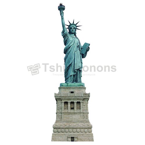 Statue of Liberty T-shirts Iron On Transfers N8067