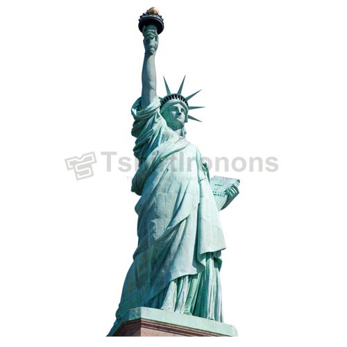 Statue of Liberty T-shirts Iron On Transfers N8069