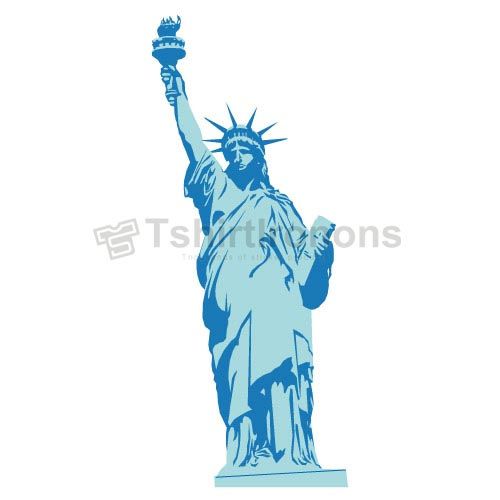 Statue of Liberty T-shirts Iron On Transfers N8072