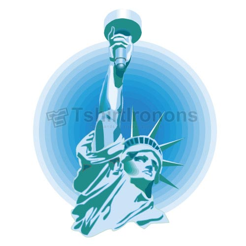 Statue of Liberty T-shirts Iron On Transfers N8073
