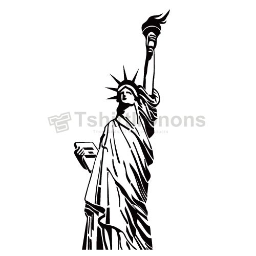 Statue of Liberty T-shirts Iron On Transfers N8074