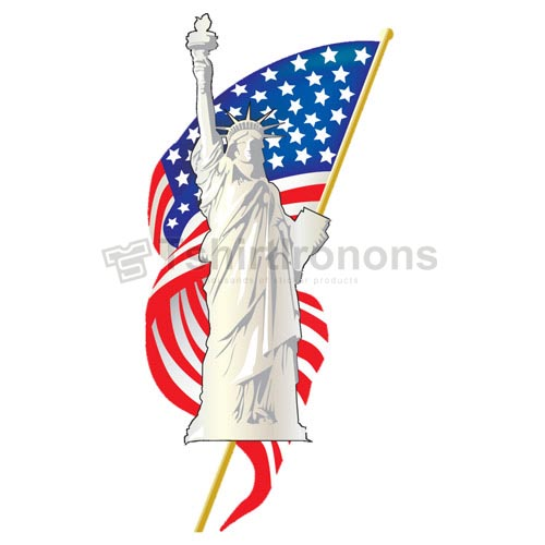 Statue of Liberty T-shirts Iron On Transfers N8077