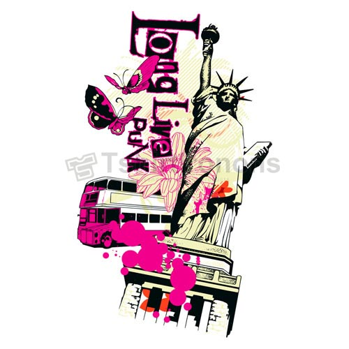 Statue of Liberty T-shirts Iron On Transfers N8084