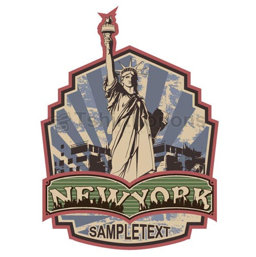 Statue of Liberty T-shirts Iron On Transfers N8086