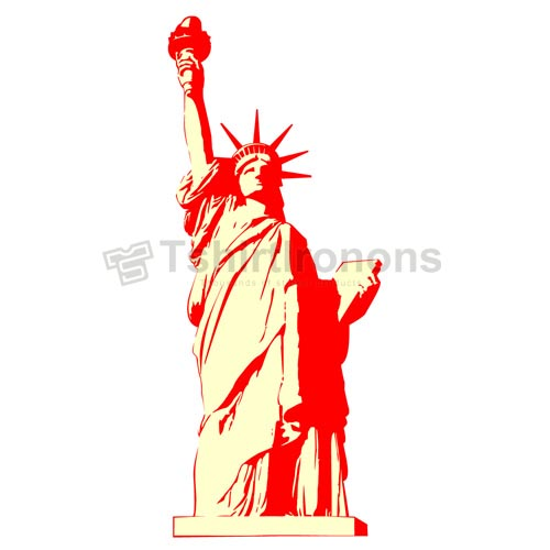 Statue of Liberty T-shirts Iron On Transfers N8087