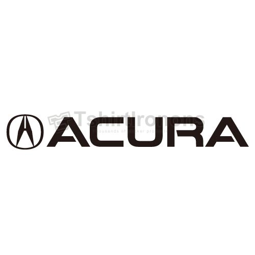 ACURA_4 T-shirts Iron On Transfers N2884