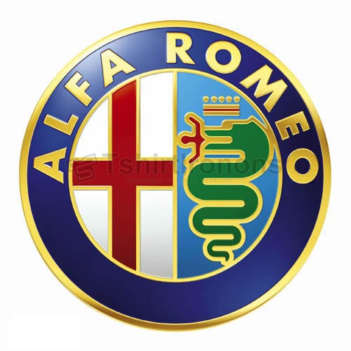 Alfa Romeo T-shirts Iron On Transfers N2886