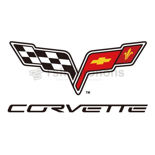 Corvette T-shirts Iron On Transfers N2904
