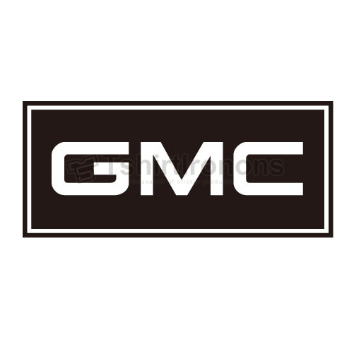 GMC T-shirts Iron On Transfers N2912