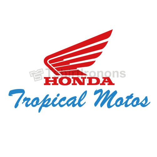 Honda_4 T-shirts Iron On Transfers N2917
