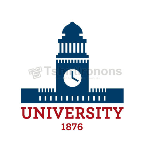University T-shirts Iron On Transfers N6172