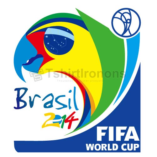 FIFA World Cup T-shirts Iron On Transfers N2055
