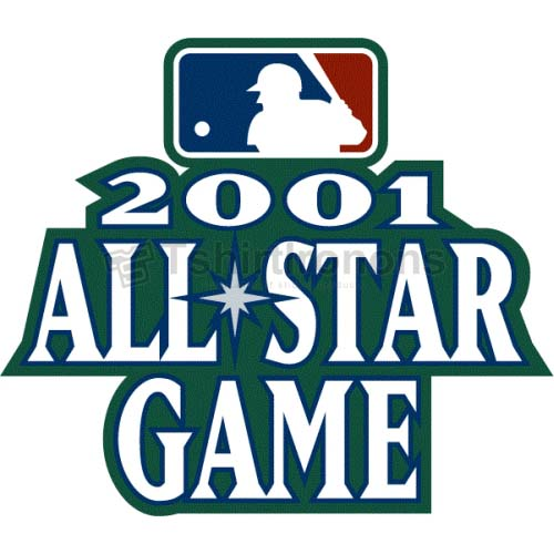 MLB All Star Game T-shirts Iron On Transfers N1274
