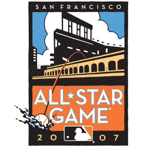 MLB All Star Game T-shirts Iron On Transfers N1289