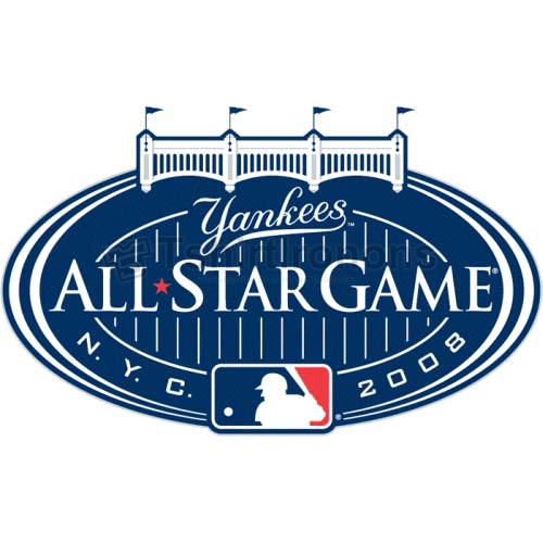 MLB All Star Game T-shirts Iron On Transfers N1291