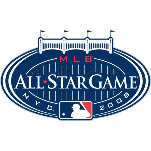 MLB All Star Game T-shirts Iron On Transfers N1292