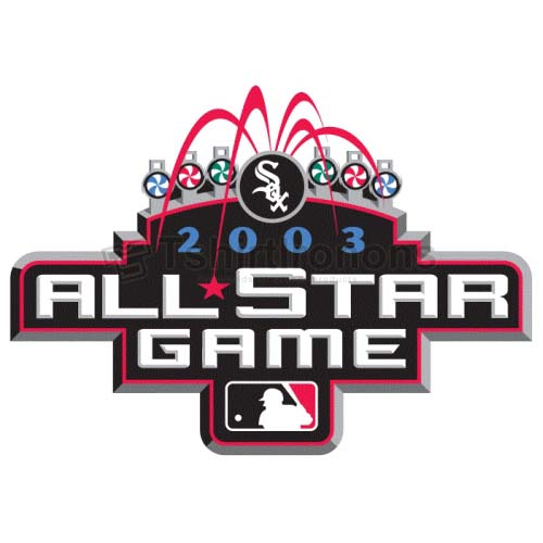 MLB All Star Game T-shirts Iron On Transfers N1360