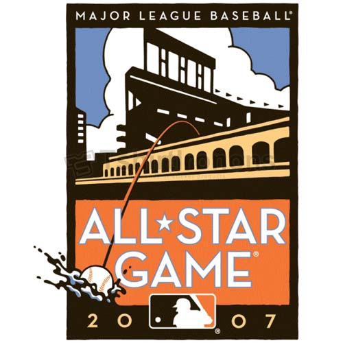 MLB All Star Game T-shirts Iron On Transfers N1364